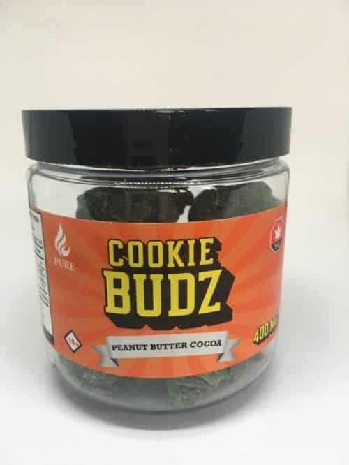 - Peanut Butter Cocoa Cookie Buds By Happy Edibles 400mg Weed Delivery Toronto - Cannabis Delivery Toronto - Marijuana Delivery Toronto - Weed Edibles Delivery Toronto - Kush Delivery Toronto - Same Day Weed Delivery in Toronto - 24/7 Weed Delivery Toronto - Hash Delivery Toronto - We are Kind Flowers - Premium Cannabis Delivery in Toronto with over 200 menu items. We're an experienced weed delivery in Toronto and we deliver all orders in a smell-proof, discreet package straight to your door. Proudly Canadian and happy to always serve you. We offer same day weed delivery toronto, cannabis delivery toronto, kush delivery toronto, edibles weed delivery toronto, hash delivery toronto, 24/7 weed delivery toronto, weed online delivery toronto