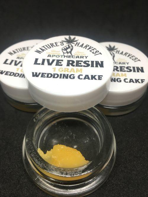 wedding cake live resin natures harvest scaled - Kind Flowers