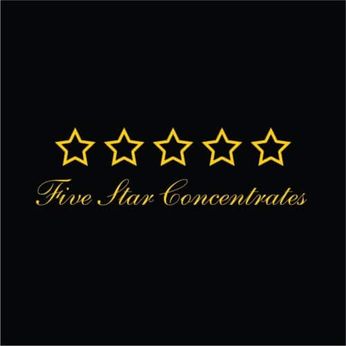 5 star concentrates logo - Kind Flowers