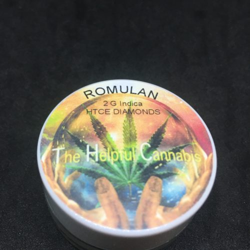 romulan diamonds 1 scaled - Romulan HTCE Diamonds From T.H.C Indica Weed Delivery Toronto - Cannabis Delivery Toronto - Marijuana Delivery Toronto - Weed Edibles Delivery Toronto - Kush Delivery Toronto - Same Day Weed Delivery in Toronto - 24/7 Weed Delivery Toronto - Hash Delivery Toronto - We are Kind Flowers - Premium Cannabis Delivery in Toronto with over 200 menu items. We're an experienced weed delivery in Toronto and we deliver all orders in a smell-proof, discreet package straight to your door. Proudly Canadian and happy to always serve you. We offer same day weed delivery toronto, cannabis delivery toronto, kush delivery toronto, edibles weed delivery toronto, hash delivery toronto, 24/7 weed delivery toronto, weed online delivery toronto
