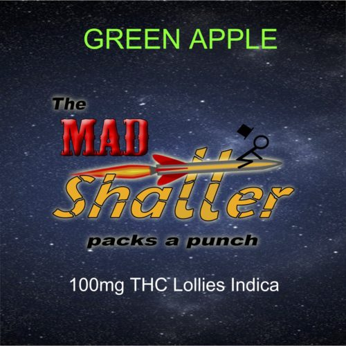 green apple lollies mad shatter - The Mad Shatter Green Apple Lollies 100mg THC Indica Weed Delivery Toronto - Cannabis Delivery Toronto - Marijuana Delivery Toronto - Weed Edibles Delivery Toronto - Kush Delivery Toronto - Same Day Weed Delivery in Toronto - 24/7 Weed Delivery Toronto - Hash Delivery Toronto - We are Kind Flowers - Premium Cannabis Delivery in Toronto with over 200 menu items. We're an experienced weed delivery in Toronto and we deliver all orders in a smell-proof, discreet package straight to your door. Proudly Canadian and happy to always serve you. We offer same day weed delivery toronto, cannabis delivery toronto, kush delivery toronto, edibles weed delivery toronto, hash delivery toronto, 24/7 weed delivery toronto, weed online delivery toronto
