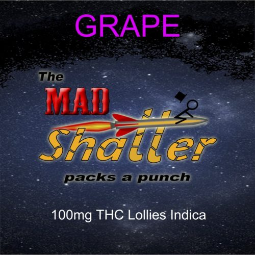 mad shatter lollies grape indica - The Mad Shatter Grape Lollies 100mg THC Indica Weed Delivery Toronto - Cannabis Delivery Toronto - Marijuana Delivery Toronto - Weed Edibles Delivery Toronto - Kush Delivery Toronto - Same Day Weed Delivery in Toronto - 24/7 Weed Delivery Toronto - Hash Delivery Toronto - We are Kind Flowers - Premium Cannabis Delivery in Toronto with over 200 menu items. We're an experienced weed delivery in Toronto and we deliver all orders in a smell-proof, discreet package straight to your door. Proudly Canadian and happy to always serve you. We offer same day weed delivery toronto, cannabis delivery toronto, kush delivery toronto, edibles weed delivery toronto, hash delivery toronto, 24/7 weed delivery toronto, weed online delivery toronto