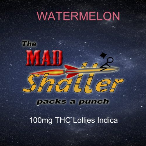 watermelon 2 mad shatter lollies - The Mad Shatter Watermelon Lollies 100mg THC Indica Weed Delivery Toronto - Cannabis Delivery Toronto - Marijuana Delivery Toronto - Weed Edibles Delivery Toronto - Kush Delivery Toronto - Same Day Weed Delivery in Toronto - 24/7 Weed Delivery Toronto - Hash Delivery Toronto - We are Kind Flowers - Premium Cannabis Delivery in Toronto with over 200 menu items. We're an experienced weed delivery in Toronto and we deliver all orders in a smell-proof, discreet package straight to your door. Proudly Canadian and happy to always serve you. We offer same day weed delivery toronto, cannabis delivery toronto, kush delivery toronto, edibles weed delivery toronto, hash delivery toronto, 24/7 weed delivery toronto, weed online delivery toronto