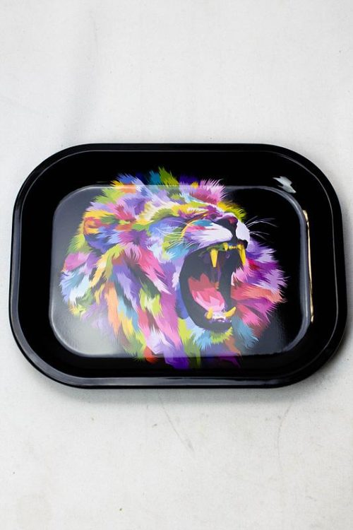 lion psychedelic mini tray - Psychedelic Lion Smoke Arsenal Mini Rolling Tray Weed Delivery Toronto - Cannabis Delivery Toronto - Marijuana Delivery Toronto - Weed Edibles Delivery Toronto - Kush Delivery Toronto - Same Day Weed Delivery in Toronto - 24/7 Weed Delivery Toronto - Hash Delivery Toronto - We are Kind Flowers - Premium Cannabis Delivery in Toronto with over 200 menu items. We're an experienced weed delivery in Toronto and we deliver all orders in a smell-proof, discreet package straight to your door. Proudly Canadian and happy to always serve you. We offer same day weed delivery toronto, cannabis delivery toronto, kush delivery toronto, edibles weed delivery toronto, hash delivery toronto, 24/7 weed delivery toronto, weed online delivery toronto