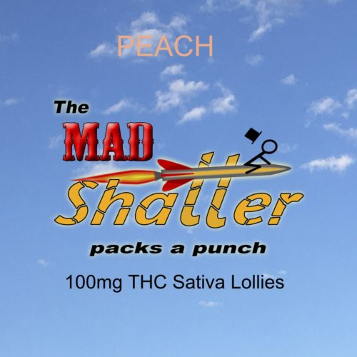 mad shatter lollie peach - The Mad Shatter Peach Lollies 100mg THC Sativa Weed Delivery Toronto - Cannabis Delivery Toronto - Marijuana Delivery Toronto - Weed Edibles Delivery Toronto - Kush Delivery Toronto - Same Day Weed Delivery in Toronto - 24/7 Weed Delivery Toronto - Hash Delivery Toronto - We are Kind Flowers - Premium Cannabis Delivery in Toronto with over 200 menu items. We're an experienced weed delivery in Toronto and we deliver all orders in a smell-proof, discreet package straight to your door. Proudly Canadian and happy to always serve you. We offer same day weed delivery toronto, cannabis delivery toronto, kush delivery toronto, edibles weed delivery toronto, hash delivery toronto, 24/7 weed delivery toronto, weed online delivery toronto