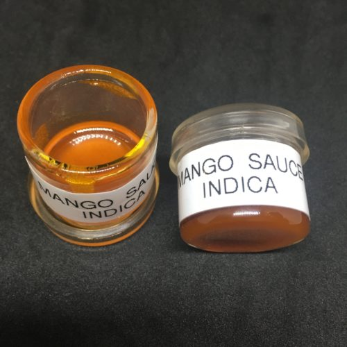 mango sauce 1 to 1 scaled - Mango Kush Live Resin Sauce T.H.C Brand (1g Jars) Indica Leaning Hybrid Weed Delivery Toronto - Cannabis Delivery Toronto - Marijuana Delivery Toronto - Weed Edibles Delivery Toronto - Kush Delivery Toronto - Same Day Weed Delivery in Toronto - 24/7 Weed Delivery Toronto - Hash Delivery Toronto - We are Kind Flowers - Premium Cannabis Delivery in Toronto with over 200 menu items. We're an experienced weed delivery in Toronto and we deliver all orders in a smell-proof, discreet package straight to your door. Proudly Canadian and happy to always serve you. We offer same day weed delivery toronto, cannabis delivery toronto, kush delivery toronto, edibles weed delivery toronto, hash delivery toronto, 24/7 weed delivery toronto, weed online delivery toronto